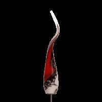 Flamme Rot-Schwarz-Weiß mit M10er Gewinde