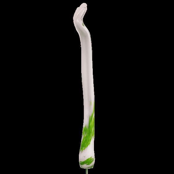 Grashalm Grün-Weiß mit M10er Gewinde