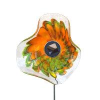 Kombiprodukt Solarblume Grün-Gelb-Orange mit...