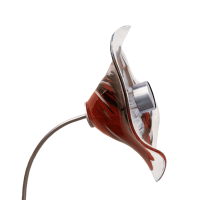 Ersatzprodukt Blüte für Solarblume Rot-Schwarz-Weiß