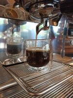 Espresso-Tassen Doppelwand-Glas im Doppelpack