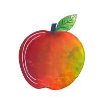 Apfel in Rot