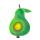 Birne in Grün