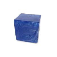 Pflasterstein in Blau (8 x 8 cm)